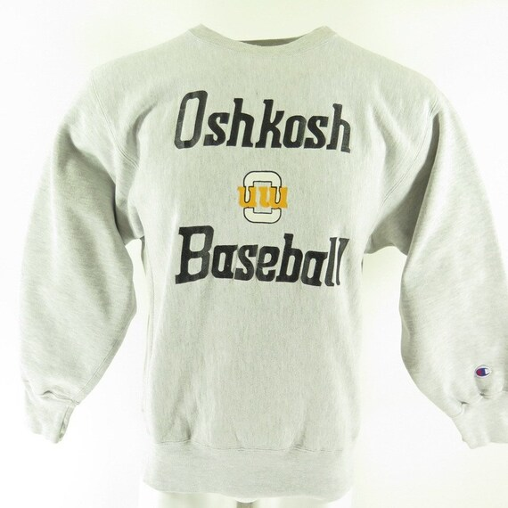 Vintage 80s Osh Kosh Champion Sweatshirt XL Wisconsin  6f23b1c69