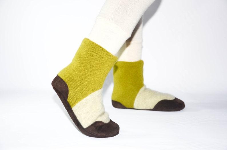 0e44425068 Kids Cashmere Slipper Socks Children Cashmere Shoes Youth | Etsy