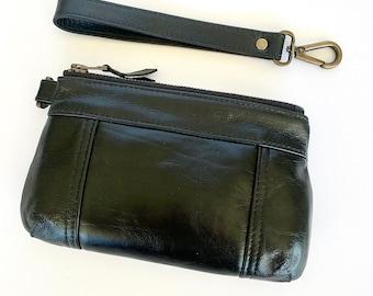 Brooke Purse in Black Bovine Leather