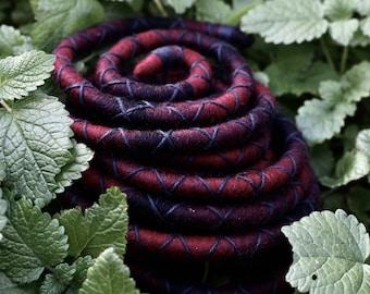 Redback - a Felt Spiralock