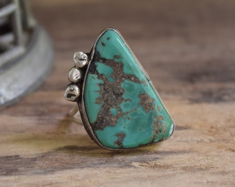 Turquoise Ring Size 10 1/2