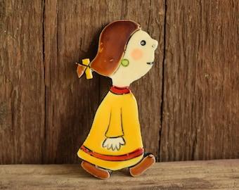 Little Girl Brooch