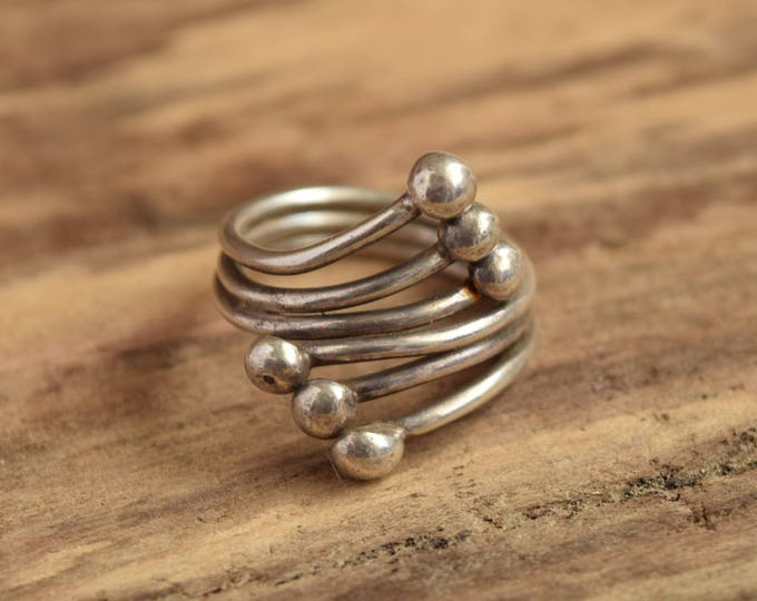 Modernist Wrap Ring - Size 9