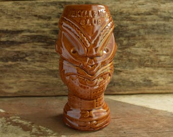 Brown Tiki Mug Tumbler