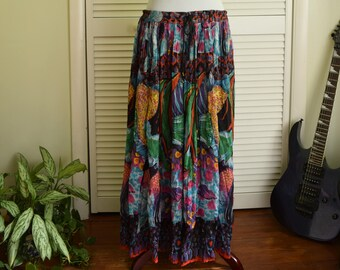 Tropical Fish Skirt - 100% cotton