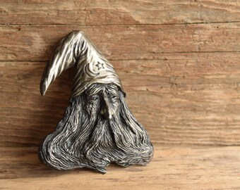 Wizard Belt Buckle by Bergamot Brass Works - Made in the USA