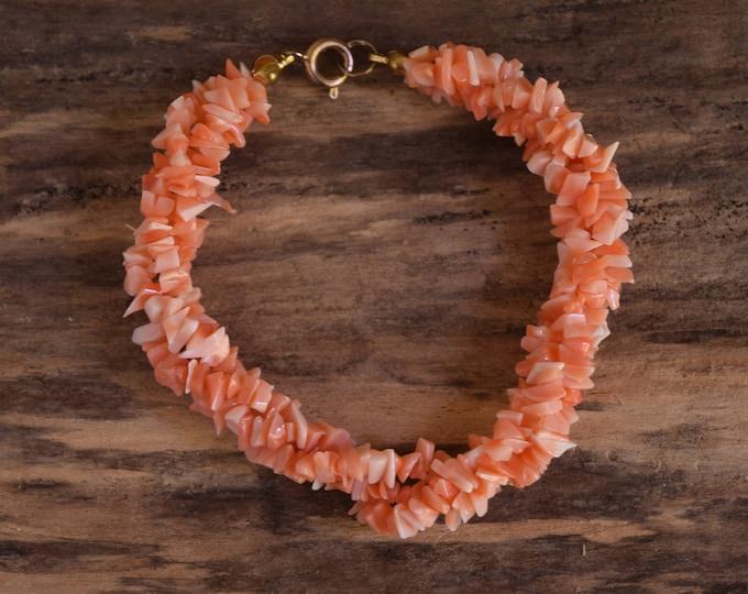 Angel Skin Coral Bracelet