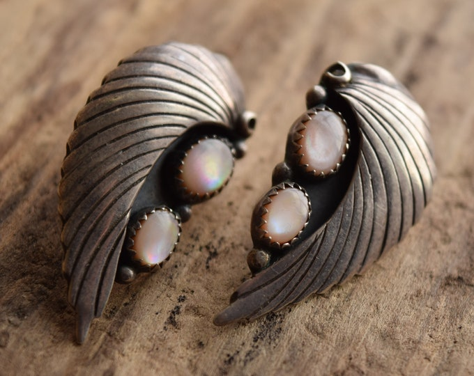 Mother of Pearl Southwestern Earrings