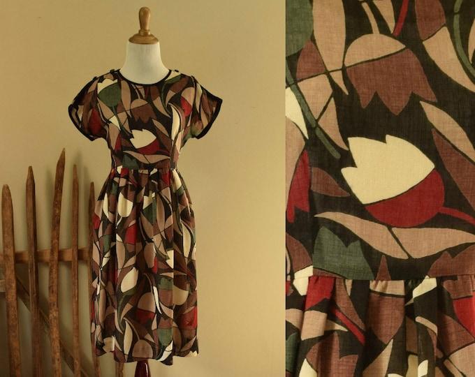 Tulip Dress - 1980s vintage