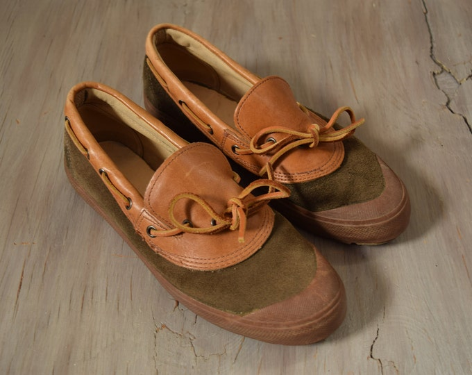 Polo Ralph Lauren Leather Loafer Boat Shoes - Women's Size 8