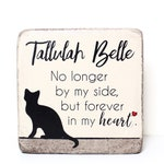 6x6 PERSONALIZED Pet Memorial Stone & Burial Marker. Tumbled (Concrete) Paver Stone. Outdoor or Indoor Dog or Cat Memorial Stone. Pet Marker