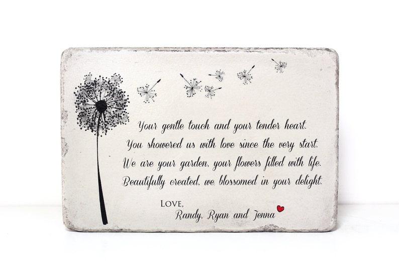 Memorial Stone with Your Custom Words. Indoor/Outdoor. 6x9x2 image 0