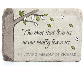 Remembrance Stones Garden Memorial stone etsy memorial stone memorial gift 6x9 tumbled concrete paver remembrance stone workwithnaturefo