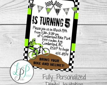 Dirt bike invitation etsy dirt bike party invitation filmwisefo