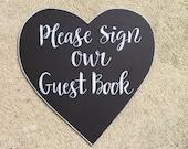 Guest Book Chalkboard