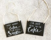 Small page boy chalkboard signs
