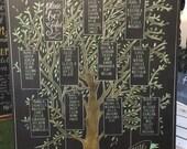 Tree seating chart
