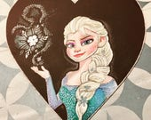 Elsa Chalkboard Sign