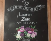 Love laughter & Happily Ever After Sign