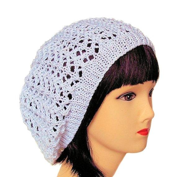 f7e6627ea364d1 Cotton Beanie Hat Slouchy Beanie Summer Beanie Women's Hat