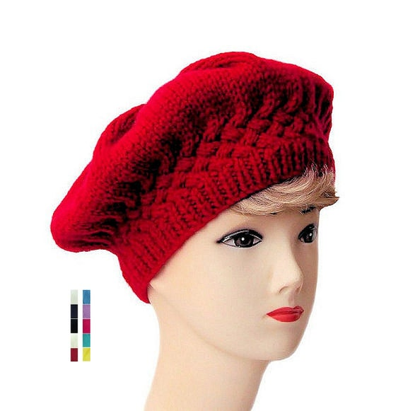 Beret Hat Womens Beret Edwardian Hat Winter Hats for Women  a6ae50a3c77
