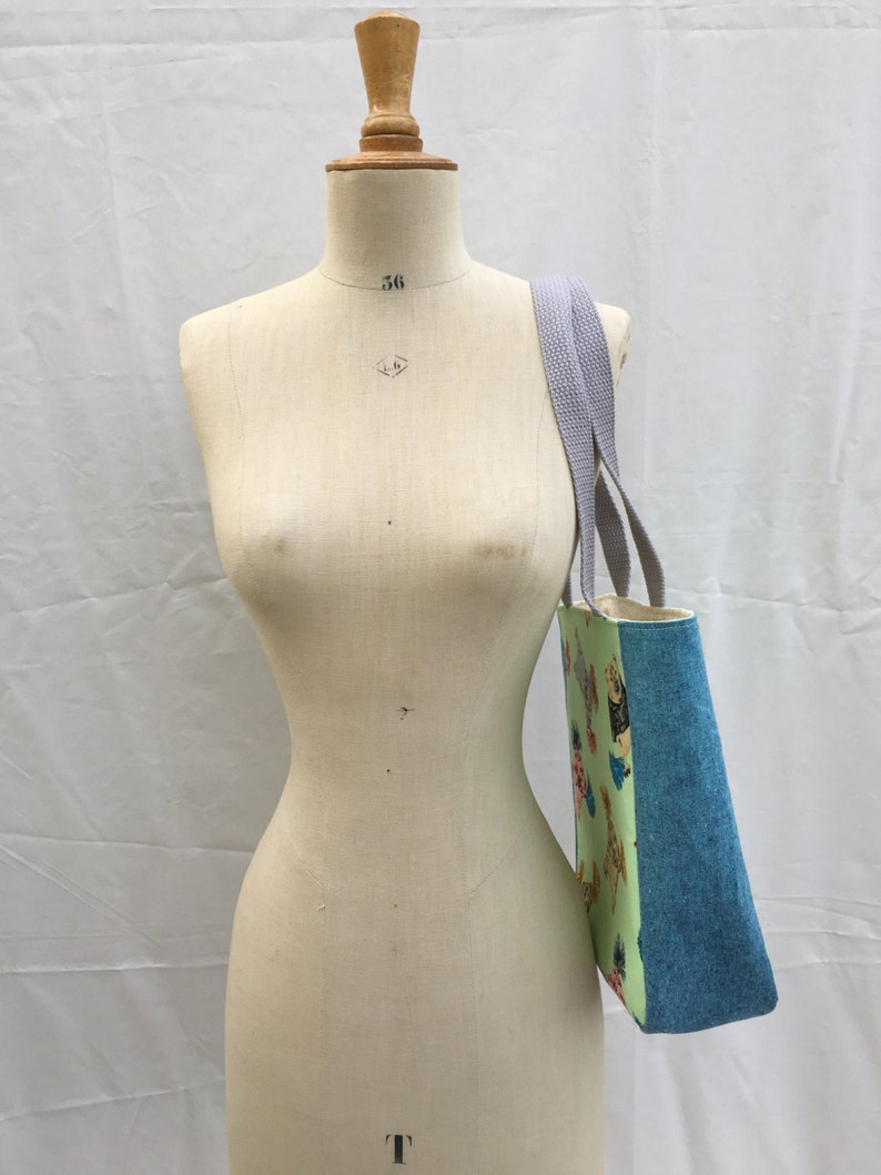 Gym Bag Linen Tote Book Bag Grocery Bag Dance Bag Small Tote Tote Bag Travel Tote Small Bag Travel Bag Lunch Bag