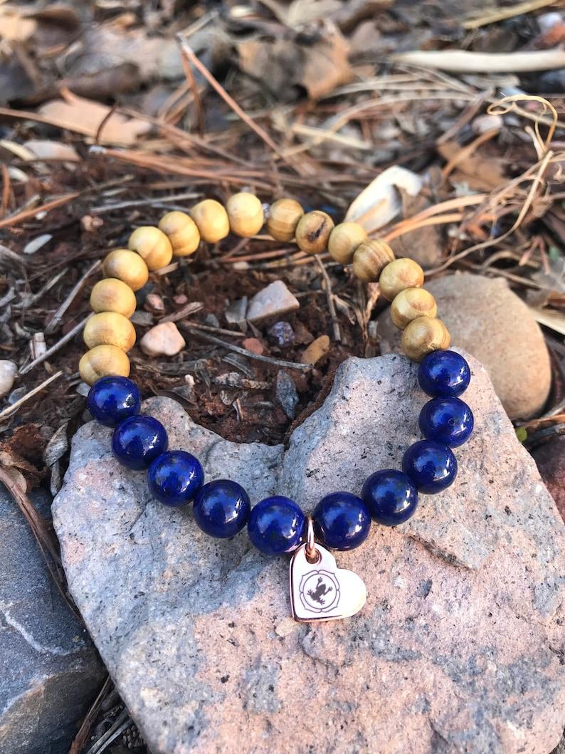 Lapis Lazuli Yoga Bracelet image 0