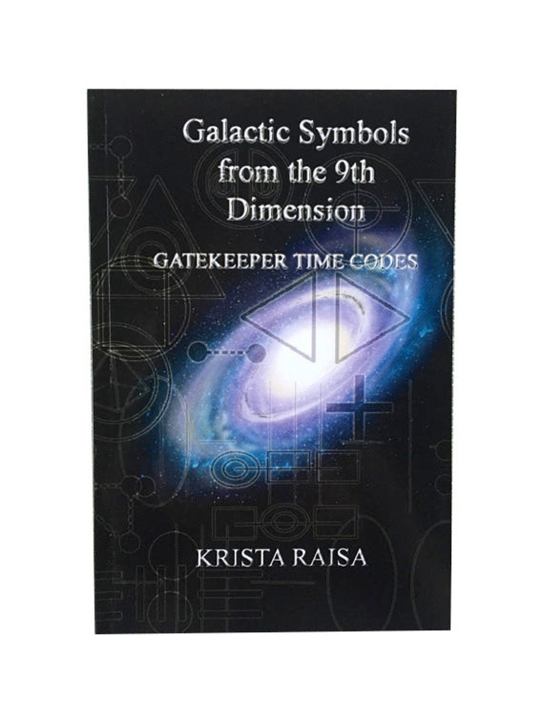 Signed Copy of Galactic Symbols from the 9th Dimension: image 0