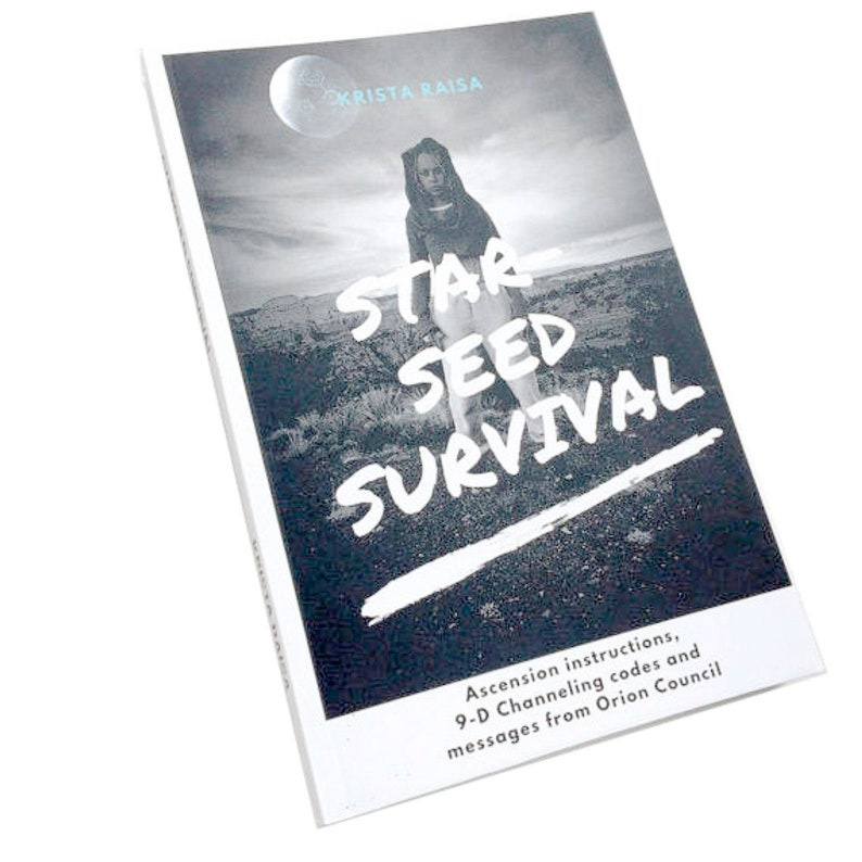 Starseed Survival book signed copy image 0