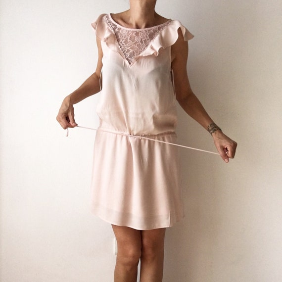 Women's mini dress, Naf Naf pink dress, M size wom