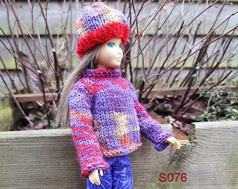 S076 Sweater, pants and hat for the original Skipper doll, little sister of Barbie