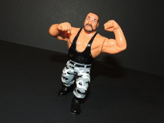 WWE WWF Hasbro Wrestling Figur Bushwhacker Butch 1991
