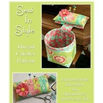 SEW IN STYLE Thread Catcher Sewing Pattern, Digital Download, Sewing Accessory, Pincushion Scrap Bag, Fat Quarter Friendly, Curry Bungalow