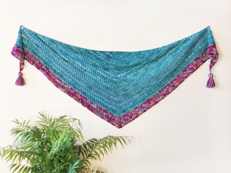 Pisces Shawl Crochet Pattern image 0