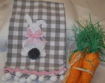 Decorative hand towel/ Tea Towel/ Easter Decoration.  Ready To Ship