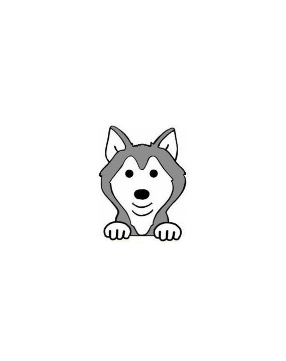 Husky Personalised Embroidered Fleece Blanket Throw Cover
