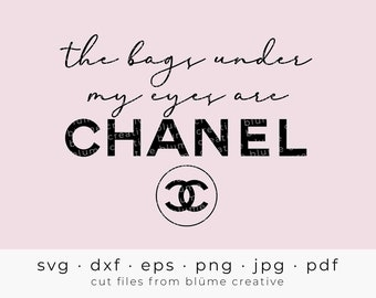 Chanel Svg Etsy