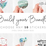 10 Sticker Bundle - You Choose Your Stickers | Catholic Vinyl Stickers