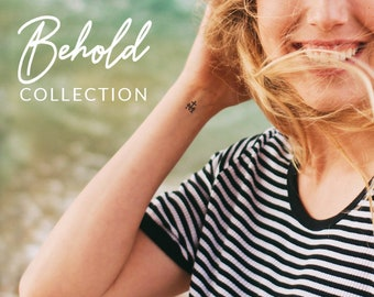 Temporary Tattoos | Behold Collection | Catholic Marian Consecration Tattoos