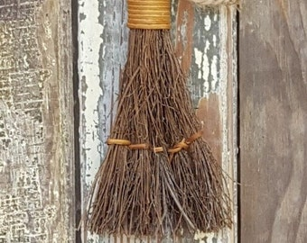 """6"""" Cinnamon Scented Broom - Great for Fall Decor - Smells Great! *Read Ad for Details - Great for Craft Projects or Home Decor - Yule Broom"""
