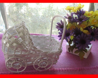 SALE!!  IRREGULAR Wicker Baby Buggy Carriage  (*** PLEASE Read Ad for Details!!!)