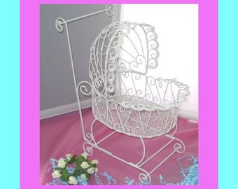 Baby Buggy - Perfect for Baby Shower Decorations - PLEASE READ AD for complete dimensions and details