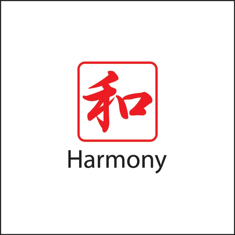 Stock Square Japanese Stamp (Harmony)