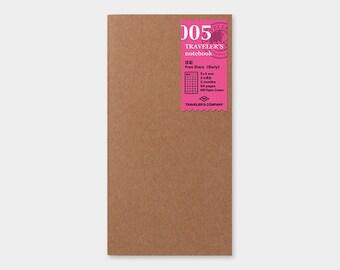 100PCS Passport Traveler/'s Notebook InsertMidori RefillsMidori Insert Traveller/'s RefillPaper Refill for Midori