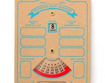 Penco Perpetrual Dial-Type Desk Calendar HK021