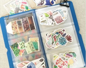 Embellishment / Sticker Storage Folder