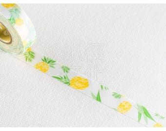 Watercolor Pineapple Washi Tape - PJMT 155047