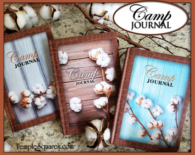 Girls Camp Journal Young Women Journals Diary Camp Activities Journal Notebook Prayer Journal