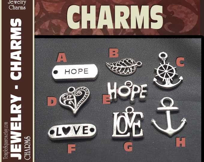 Ask of God Ask in Faith Pack of 10 Silver Charms for DIY Jewelry Craft Supplies for LDS or gifts, pendants, bracelets.  YW Mutual Theme