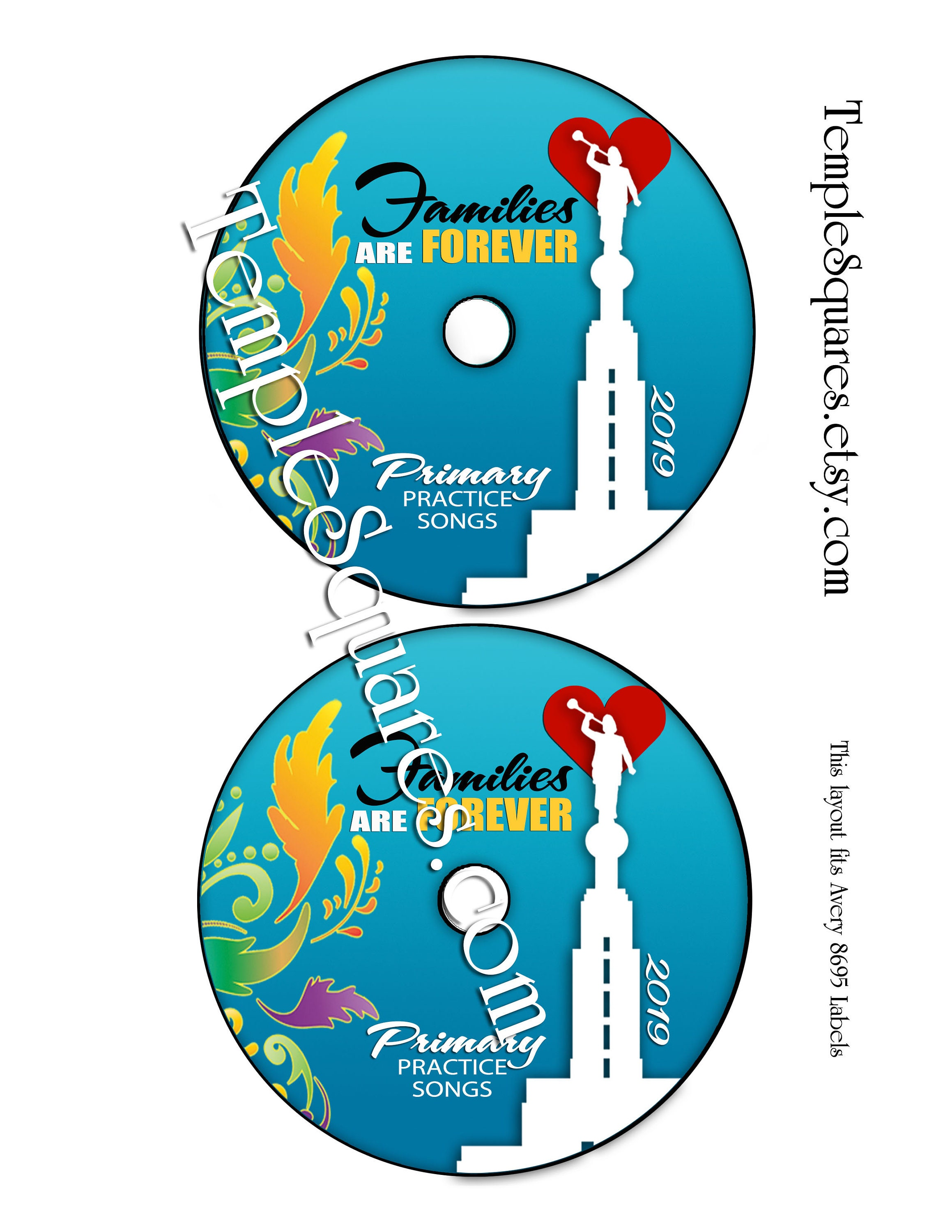 image about Printable Cd Labels identify Printable CD labels for 2019 Childrens Principal Software